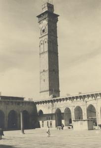 "<bdi class=""metadata-value"">Alep (Alep). Vue depuis la cour intérieure de la Grande Mosquée</bdi>"