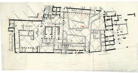 "<bdi class=""metadata-value"">PalmyreTadmor, sanctuaire de Baalshamîn. Plan des inventoriés de la campagne de 1954</bdi>"