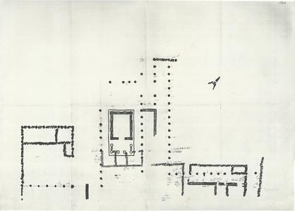 """<bdi class=""""metadata-value"""">Palmyre/Tadmor, sanctuaire de Baalshamîn. Plan des fouilles de 1954 avec localisations des inventoriés</bdi>"""