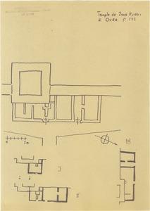 """<bdi class=""""metadata-value"""">Dura Europos, temple de Zeus Kurios. Plan du temple</bdi>"""